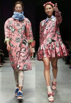 """"""" , a brand new womenswear label whose carte du jour includes a noticeably happy approach to everyday fashion a. Japanese Street Fashion, Korean Fashion, Women's Fashion, Korean Model, Fashion Designers, Everyday Fashion, Fashion Inspiration, Runway, Women Wear"""