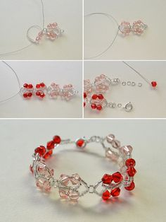 crystal bracelet, LC.Pandahall.com will show us the tutorial soon.