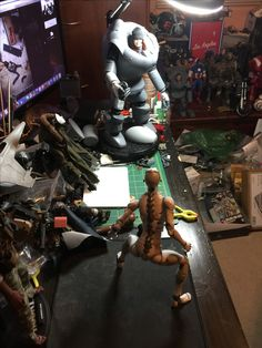 Custom 1/6 scale action figures kit bash kitbash collections 1/6th 1000toys