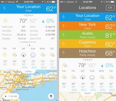 20 apps that look great on iOS 7 #design