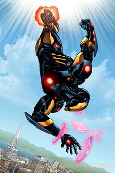 Iron Man Black and Gold armor - Mainframe ...°°