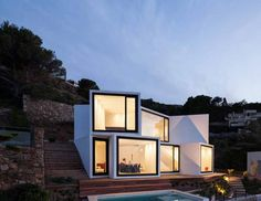 The Sunflower House by Cadaval & Solà-Morales Architects