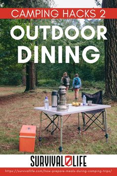The key to a successful family camping trip is getting your meals organized in advance. Even if you only have a campfire or camp stove to work with, there's no reason your family can't eat like kings! Read on for some outdoor dining hacks! #survivallife #survival #preparedness #survivalist #prepper #camping #outdoors #spring #outdoorsurvival #outdoorcooking #outdoordining Survival Hacks, Survival Life, Survival Prepping, Emergency Preparedness, Survival Skills, Camping Recipes, Camping Meals, Family Camping, Camping Tips