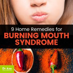 Burning Mouth Syndrome Symptoms 9 Home Remedies Burning Mouth Syndrome, Chapped Lips Remedy, Tongue Sores, Tongue Health, Holistic Remedies, Natural Remedies, Homeopathic Remedies, Tooth Sensitivity