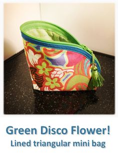 Green Disco Flower! Mini Bag, Green, Flowers, Bags, Collection, Handbags, Royal Icing Flowers, Flower, Florals