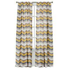 "Target: Room Essentials® Chesapeake Zigzag Window Panel Pair - (42x84"")"