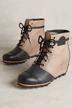 i kind of want these    Sorel 1964 Premium Wedge Boots - anthropologie.com