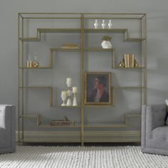 Mansfield Etagere | chic, timeless and on everyone's wish list.