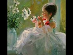 a video compilation of stills from the paintings of Vladim Volegov