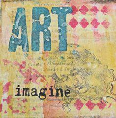 Imagine Art! Using Stencils to Create Layers