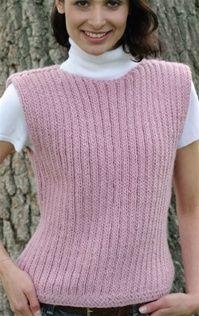 """Mickey Vest free pattern Loom: 28"""" Knitting Board"""