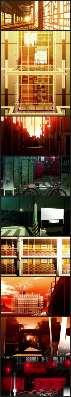 Bakemonogatari (2009) Directed by Akiyuki Shinbo, created by Shaft Inc. Very cool and unique style on this show.