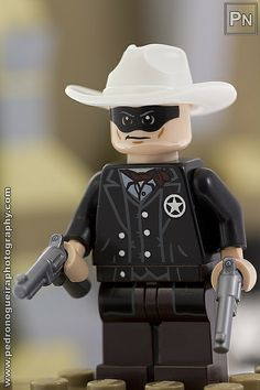 """That was supposed to be a warning shot"" My LEGO. Lego Lone Ranger, The Lone Ranger, Lego Factory, Lego Jewelry, Lego Tv, Toys For Boys, Sculptures, Lego Minifigure, Lego Stuff"