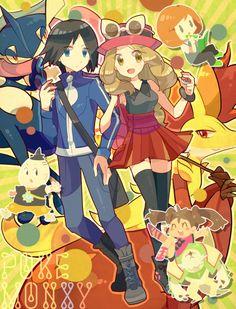 Pokemon XY.
