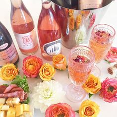 theknot: Cheers to Thursday! How are you celebrating Rosé Week? #theknot #roséweek #ringaroundtherosé : @sarahkaylove