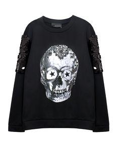 Christmas Skull Punk Sweatshirt