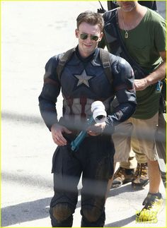 jeremy renner joins chris evans on captain america civil war set 18 Jeremy Renner is photographed for the first time on the set of Captain America: Civil War hiding his Hawkeye costume under a cloak on Tuesday (May 19) in Atlanta,…