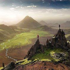 Landmannalaugar Iceland - Photography by by ourplanetdaily Tours In Iceland, Iceland Photos, Iceland Travel, Places To Travel, Places To See, Travel Destinations, Voyage Europe, Faroe Islands, Travel Light
