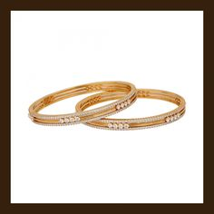 Diamond bangles (135A4251)   Vummidi Bangaru Jewellers