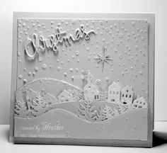 A White Christmas by Rica - Cards and Paper Crafts at Splitcoaststampers
