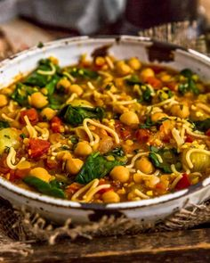 Fragrant and delicious, this soul-warming, oil-free Moroccan Harira is ultra-comforting, easy to make, and a delightful nod to the Moroccan cuisine. #wholefoodplantbased #vegan #oilfree #glutenfree #plantbased | monkeyandmekitchenadventures.com Whole Food Recipes, Dinner Recipes, Healthy Recipes, Moroccan Dishes, Vegan Party Food, Clean Eating Dinner, Middle Eastern Recipes, How To Cook Pasta, Food Photography