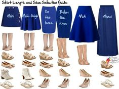 In case youre not sure which shoes go with which skirt for your character