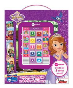 This Sofia the First Eight-Book Me Reader Electronic Book is perfect! #zulilyfinds