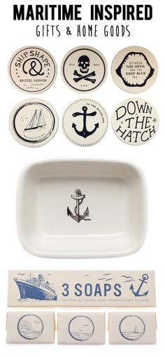 Have someone who's hard to shop for? Try these Maritime + Nautical inspired gifts!