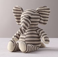 Luxe Knit Stuffed Toy rhbabyandchild.com