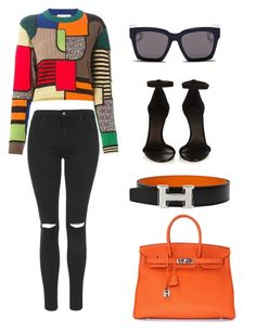 """""""Simple as that no.19"""" by ronnie-27 ❤ liked on Polyvore featuring Moschino, Topshop, Hermès, Isabel Marant, Blanc & Eclare, women's clothing, women, female, woman and misses"""
