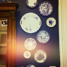 new plates in my hall Decorative Plates, Collection, Home Decor, Decoration Home, Room Decor, Home Interior Design, Home Decoration, Interior Design