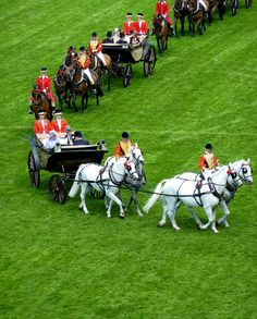 The Royals arrive at Royal Ascot - by clogette, via Flickr