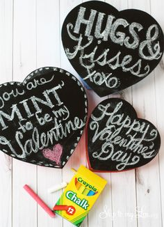 Chalkboard Candy Boxes