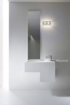 badezimmermöbel linien schwarz hochglanz artesi | wohnen ... - Moderne Badmoebel Artesi Hochglanz Holz