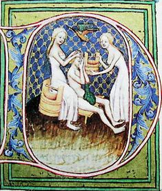 I'm not going to name any names, but I read a comment on someone else's blog that medieval people were dirty and they actually thought that was a good thing. Now, as I was a history maj…