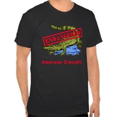 Endangered American Crocodile Products T Shirt