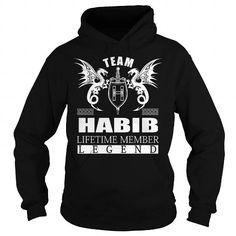 I Love Team HABIB Lifetime Member - Last Name, Surname TShirts T-Shirts