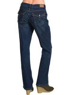 Levi's 515 Jeans...best fit ever for tall girls like me.  Just ordered 2 new pair!!