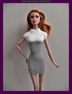 "Poppy Parker dolls 12"" clothes - dress (not doll)"