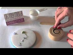 How to embed Flower on Clean resin - YouTube