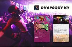 Rhapsody's VR app is a hub for live music videos - https://www.aivanet.com/2016/05/