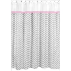 Image result for shower curtain pink and grey