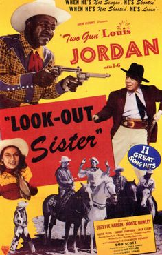 1947 western movie poster | download look out sister