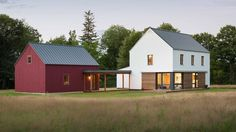 Pre-fab homes by GO Logic | American design-build firm Go Logic has created a range of factory-made dwellings that were designed using passive house standards and can be constructed onsite in less than two weeks.