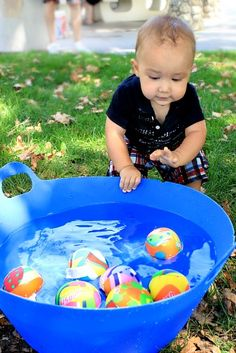 24 Ideas for fishing birthday party games 1st Birthday Party Games, 1 Year Old Birthday Party, Baby Boy First Birthday, Summer Birthday, 1st Birthday Activities, Birthday Ideas, 2nd Birthday, Beach Ball Birthday, Party Summer