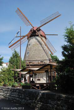 Kuressaare windmill, Saaremaa island, Estonia