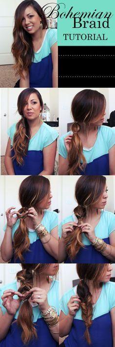14 Amazing Pull Through Braid Hairstyles