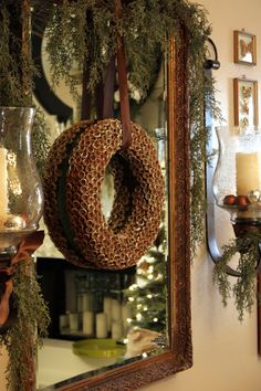 Sweet Something Designs: Acorn Cap Wreath (A Tutorial) (maybe I should start off with something small?)