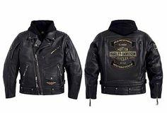 Sweet!  Harley Davidson mens Rocker biker leather jacket 3 in 1 97181-14VM M L XL 2XL+