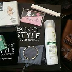 2016 Rachel Zoe Spring Box of Style All contents from the 2016 Rachel Zoe Spring Box of Style - total value over $400 Other